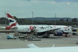 Rsaさんが、ロンドン・ヒースロー空港で撮影したブリティッシュ・エアウェイズ 777-236/ERの航空フォト(飛行機 写真・画像)