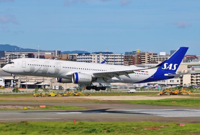 航空フォト:SE-RSE スカンジナビア航空 A350-900