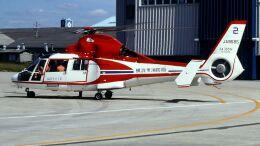 航空見聞録さんが、伊丹空港で撮影した横浜市消防航空隊 AS365N Dauphin 2の航空フォト(飛行機 写真・画像)