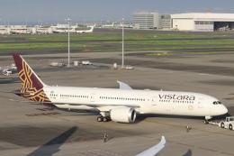 パピヨンさんが、羽田空港で撮影したビスタラ 787-9の航空フォト(飛行機 写真・画像)