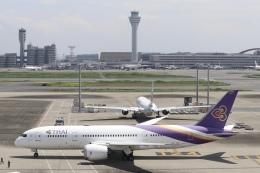 パピヨンさんが、羽田空港で撮影したタイ国際航空 787-8 Dreamlinerの航空フォト(飛行機 写真・画像)