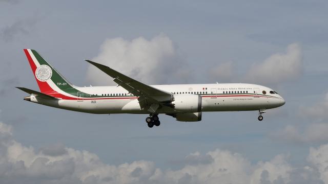 航空フォト:XC-MEX メキシコ空軍 787-8 Dreamliner