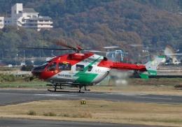 TA27さんが、岡南飛行場で撮影した岡山市消防航空隊 BK117C-2の航空フォト(飛行機 写真・画像)