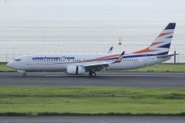 しゃこ隊さんが、羽田空港で撮影したスマート・ウイングス 737-81Mの航空フォト(飛行機 写真・画像)