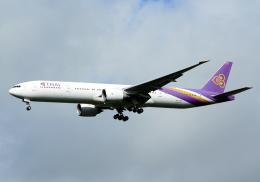 NINEJETSさんが、成田国際空港で撮影したタイ国際航空 777-3D7/ERの航空フォト(飛行機 写真・画像)