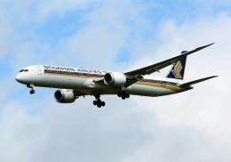 NINEJETSさんが、成田国際空港で撮影したシンガポール航空 787-10の航空フォト(飛行機 写真・画像)