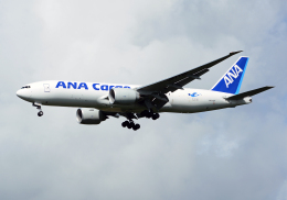 NINEJETSさんが、成田国際空港で撮影した全日空 777-F81の航空フォト(飛行機 写真・画像)