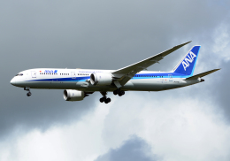 NINEJETSさんが、成田国際空港で撮影した全日空 787-9の航空フォト(飛行機 写真・画像)