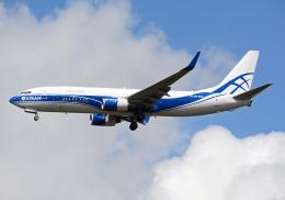NINEJETSさんが、成田国際空港で撮影したアトラン・アヴィアトランス・カーゴ・エアラインズ 737-8AS(BCF)の航空フォト(飛行機 写真・画像)