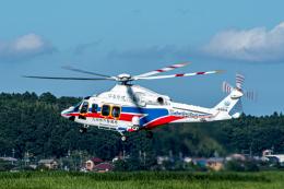 あけみさんさんが、龍ケ崎飛行場で撮影した国土交通省 地方整備局 AW139の航空フォト(飛行機 写真・画像)