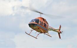 ヘリオスさんが、東京ヘリポートで撮影した新日本ヘリコプター 206L-3 LongRanger IIIの航空フォト(飛行機 写真・画像)