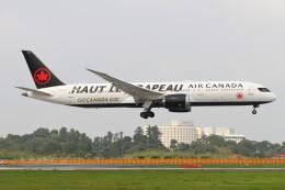 BTYUTAさんが、成田国際空港で撮影したエア・カナダ 787-9の航空フォト(飛行機 写真・画像)