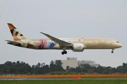 BTYUTAさんが、成田国際空港で撮影したエティハド航空 787-9の航空フォト(飛行機 写真・画像)