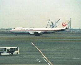 エルさんが、羽田空港で撮影した日本航空 747SR-46の航空フォト(飛行機 写真・画像)