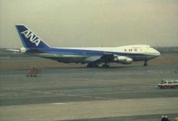 エルさんが、羽田空港で撮影した全日空 747SR-81の航空フォト(飛行機 写真・画像)