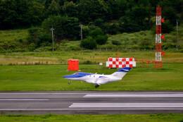 Gambardierさんが、岡山空港で撮影した日本法人所有 HA-420の航空フォト(飛行機 写真・画像)