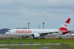 アルビレオさんが、成田国際空港で撮影したオーストリア航空 777-2Z9/ERの航空フォト(飛行機 写真・画像)