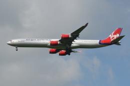 Deepさんが、成田国際空港で撮影したヴァージン・アトランティック航空 A340-642の航空フォト(飛行機 写真・画像)