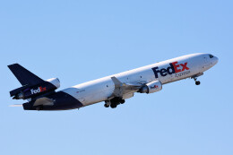 woodpeckerさんが、インディアナポリス国際空港で撮影したフェデックス・エクスプレス MD-11Fの航空フォト(飛行機 写真・画像)