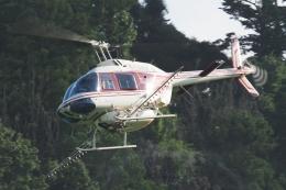 木人さんが、千葉県香取市内で撮影したヘリサービス 206B-3 JetRanger IIIの航空フォト(飛行機 写真・画像)