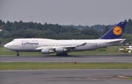 チャーリーマイクさんが、成田国際空港で撮影したルフトハンザドイツ航空 747-430の航空フォト(飛行機 写真・画像)