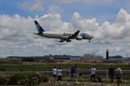 flyskyさんが、成田国際空港で撮影したエジプト航空 777-36N/ERの航空フォト(飛行機 写真・画像)