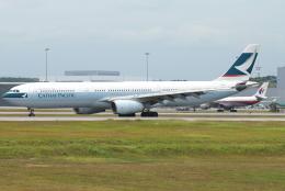 jun☆さんが、クアラルンプール国際空港で撮影したキャセイパシフィック航空 A330-342の航空フォト(飛行機 写真・画像)
