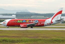 jun☆さんが、クアラルンプール国際空港で撮影したインドネシア・エアアジア 737-3Y0の航空フォト(飛行機 写真・画像)