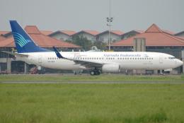 jun☆さんが、スカルノハッタ国際空港で撮影したガルーダ・インドネシア航空 737-85Fの航空フォト(飛行機 写真・画像)
