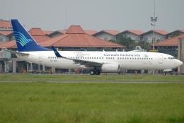 航空フォト:PK-GEP ガルーダ・インドネシア航空 737-800