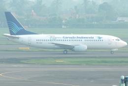 jun☆さんが、スカルノハッタ国際空港で撮影したガルーダ・インドネシア航空 737-3U3の航空フォト(飛行機 写真・画像)