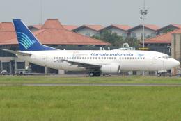 jun☆さんが、スカルノハッタ国際空港で撮影したガルーダ・インドネシア航空 737-34Sの航空フォト(飛行機 写真・画像)