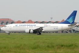 jun☆さんが、スカルノハッタ国際空港で撮影したガルーダ・インドネシア航空 737-4M0の航空フォト(飛行機 写真・画像)