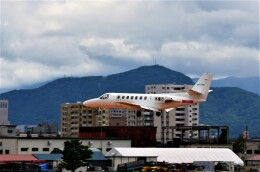 yukimaru-jetさんが、札幌飛行場で撮影した中日本航空 560 Citation Vの航空フォト(飛行機 写真・画像)