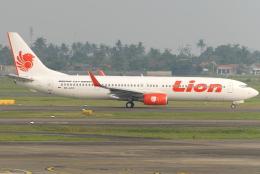 jun☆さんが、スカルノハッタ国際空港で撮影したライオン・エア 737-9GP/ERの航空フォト(飛行機 写真・画像)
