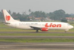 jun☆さんが、スカルノハッタ国際空港で撮影したライオン・エア 737-4Y0の航空フォト(飛行機 写真・画像)