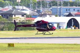 triton@blueさんが、名古屋飛行場で撮影した日本法人所有 505 Jet Ranger Xの航空フォト(飛行機 写真・画像)