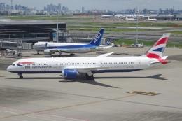 Izumixさんが、羽田空港で撮影したブリティッシュ・エアウェイズ 787-9の航空フォト(飛行機 写真・画像)