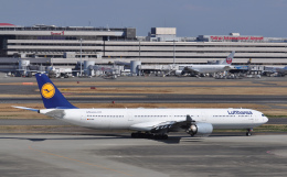 航空フォト:D-AIHF ルフトハンザドイツ航空 A340-600