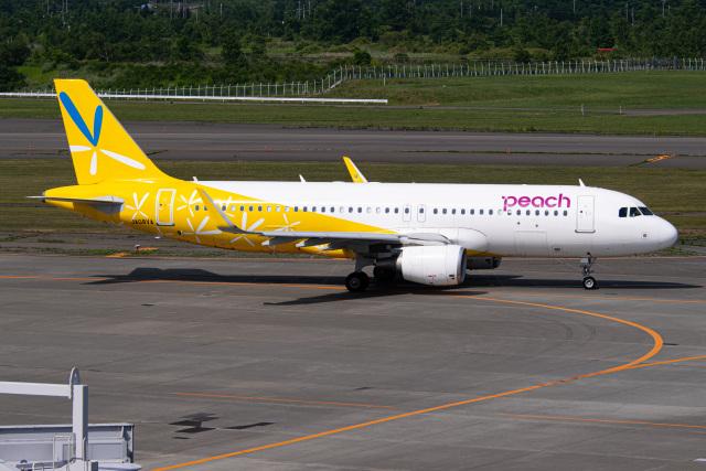 航空フォト:JA08VA ピーチ A320