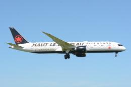 banshee02さんが、成田国際空港で撮影したエア・カナダ 787-9の航空フォト(飛行機 写真・画像)