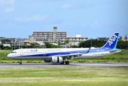 M.Tさんが、宮古空港で撮影した全日空 A321-272Nの航空フォト(飛行機 写真・画像)