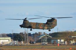 SKY☆101さんが、茨城空港で撮影した陸上自衛隊 CH-47JAの航空フォト(飛行機 写真・画像)