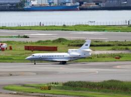 ハム太郎。さんが、羽田空港で撮影したオーストラリア空軍 Falcon 7Xの航空フォト(飛行機 写真・画像)