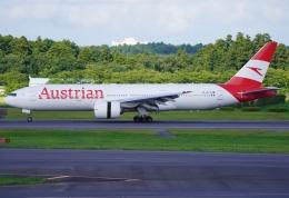 SFJ_capさんが、成田国際空港で撮影したオーストリア航空 777-2Z9/ERの航空フォト(飛行機 写真・画像)