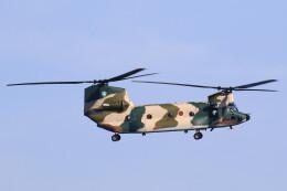 MH-38Rさんが、三沢飛行場で撮影した航空自衛隊 CH-47J/LRの航空フォト(飛行機 写真・画像)