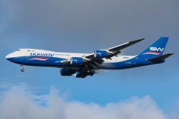 Tomo-Papaさんが、成田国際空港で撮影したシルクウェイ・ウェスト・エアラインズ 747-83QFの航空フォト(飛行機 写真・画像)