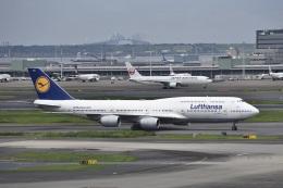 kurubouzuさんが、羽田空港で撮影したルフトハンザドイツ航空 747-830の航空フォト(飛行機 写真・画像)