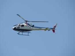 熱血男子さんが、札幌飛行場で撮影した北海道航空 AS350B2 Ecureuilの航空フォト(飛行機 写真・画像)