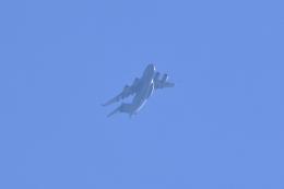 レガシィさんが、宇都宮市内で撮影したアメリカ空軍 C-17A Globemaster IIIの航空フォト(飛行機 写真・画像)